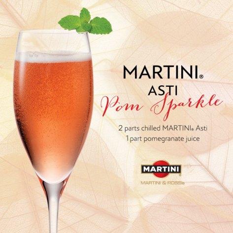 Romantic Cocktails: Pom Sparkle